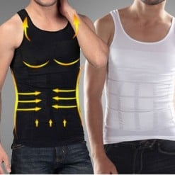 Men Slimming Compression Vest Body Shapers Tank Top