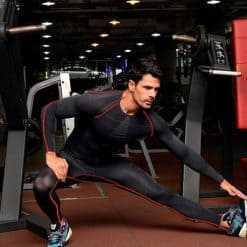 Slim Fit Men Compression Gym Workout Set