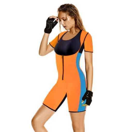 Neoprene Jumpsuit Hot Full Body Women Sport Wear