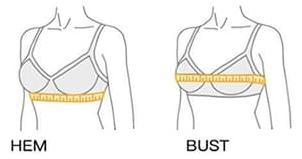 Post Surgery Front Closure Women Padded Pushup Bra