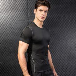 Men Workout Compression Tank Top